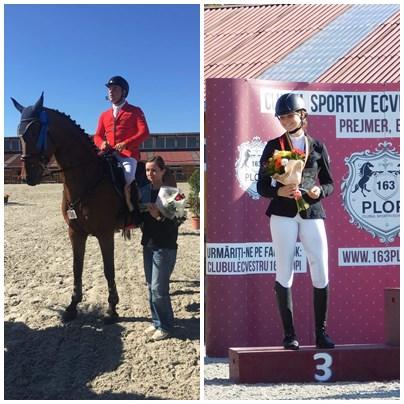 Takacs și Irimia, bronz la finalele Cai de 5 și 7 ani