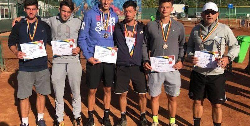 Medalie de bronz pentru tenismenii universitari la Campionatul Național