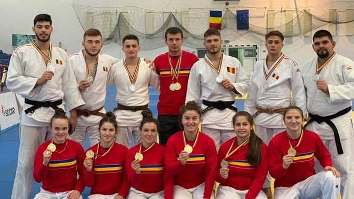 Judokanii au cucerit șapte medalii la CN U23