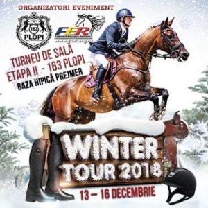 Doi călăreți universitari participă la Winter Tour