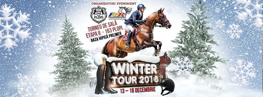 Doi călăreți universitari participă la Winter Tour