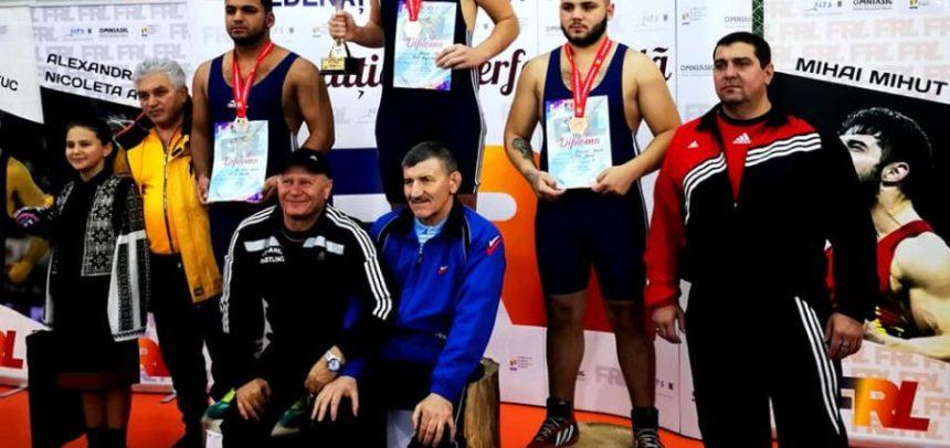 Drânda și Molnoș, supercampionii României la lupte