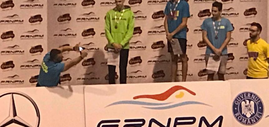 Două medalii pentru Marius Veiss la CN de Poliatlon