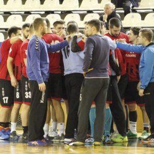 Final de meciuri amicale pentru handbaliști
