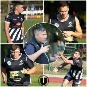 Cantonament al naționalei U20 cu patru rugbyști universitari