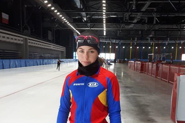 Ilka Fuzesy patinează la patru probe la JOT de la Lausanne