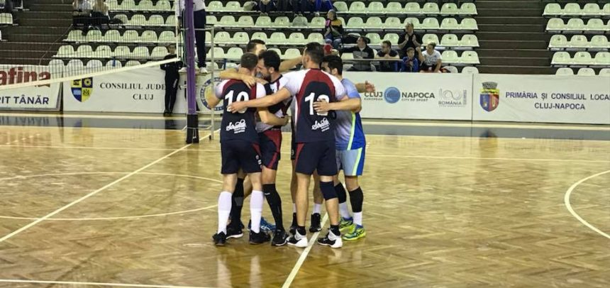 Echipa de volei masculin joacă la Steaua București