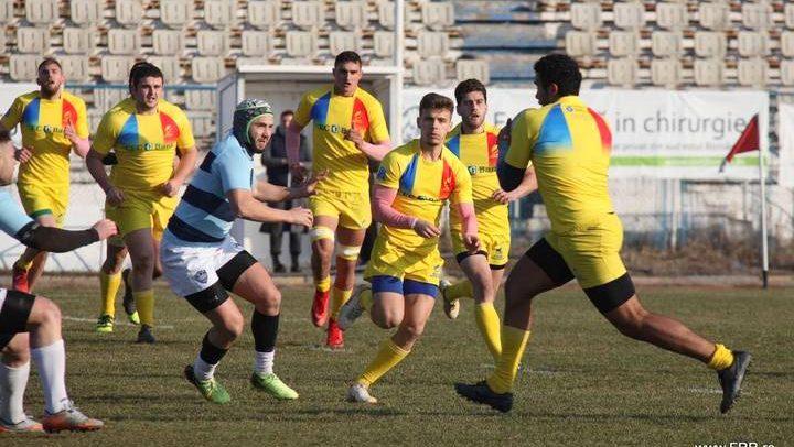 Trei rugbyști și antrenorul Hîmpea, în cantonament cu naționala U20