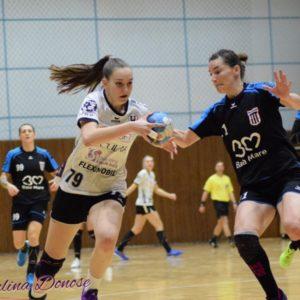 Meci la Brașov pentru handbalistele universitare