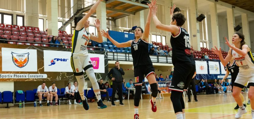 Victorie pentru baschetbaliste în primul duel cu Phoenix Constanța