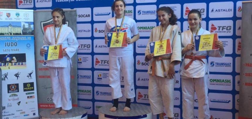 Judokanii au venit cu medalii de la Satu Mare