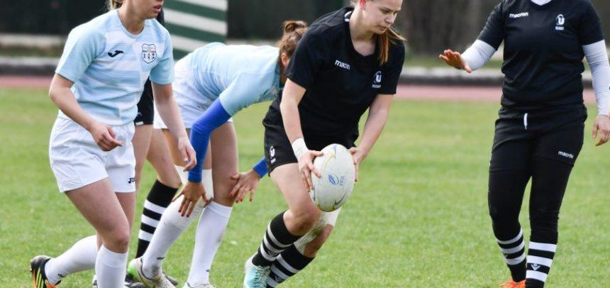 Rezultatele etapei de rugby 7 feminin de la Iași