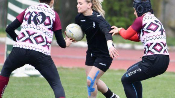 RF: Etapa I din cadrul CN Rugby 7 feminin la Cluj-Napoca  6 APRILIE 2019 (FOTO: Ștefan Martinescu)