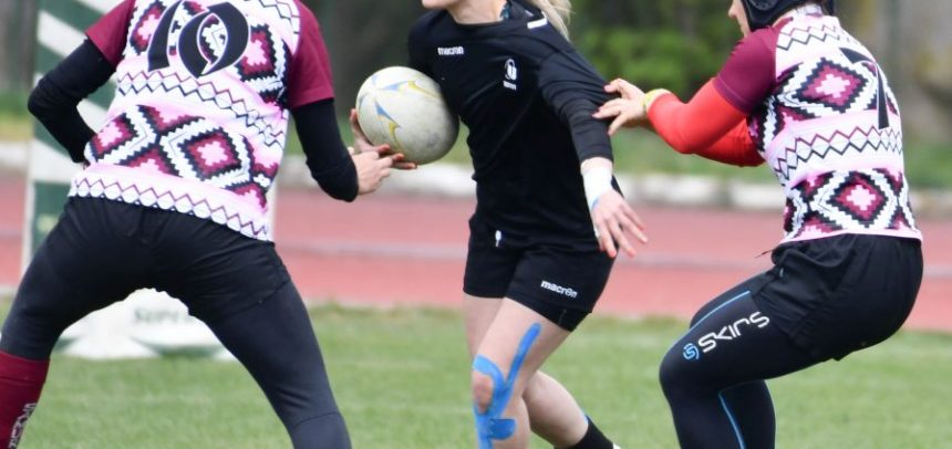 Etapă de rugby 7 feminin la Iași