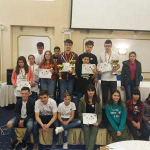 "Perechile CS ""U"" Cluj, campioane naționale la scrabble tineret"