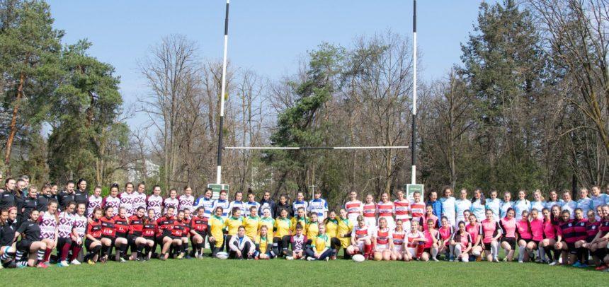 Agronomia a câștigat etapa de rugby feminin de la Cluj