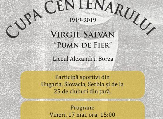 """Cupa Centenarului Virgil Salvan – """"Pumn de fier"""""""