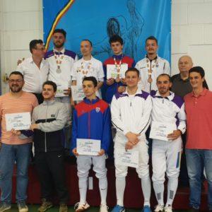 Aur și bronz pentru floretiștii universitari la Campionatul Național