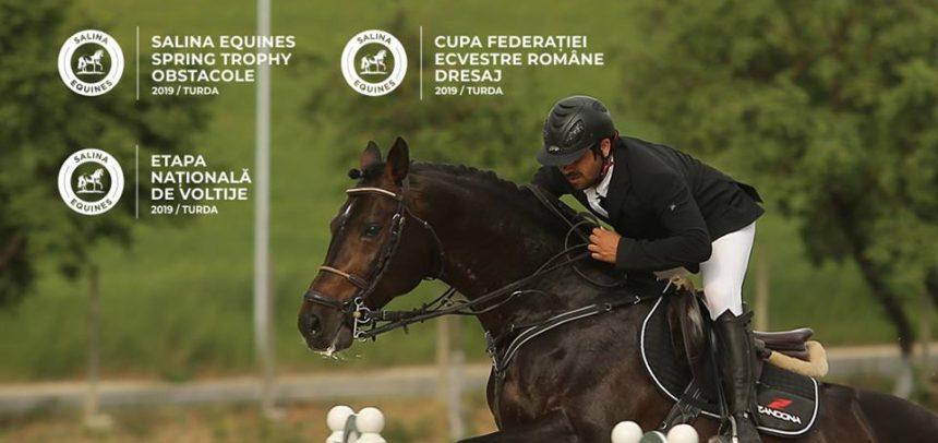 """""""U"""" Cluj participă cu 17 cai la competiția de la Salina Equines"""