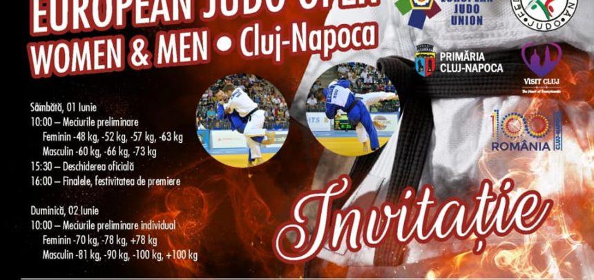 U 100 – Open european de judo seniori la Cluj