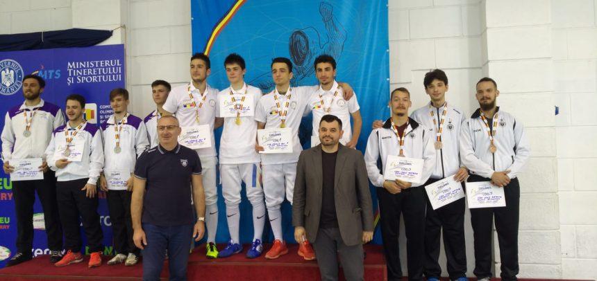 "Medalie de bronz pentru echipa CS ""U"" Cluj"