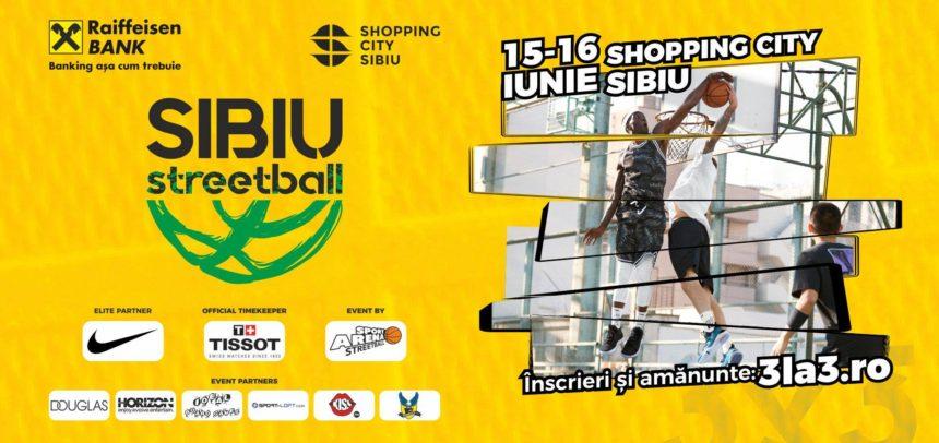 Baschetbalistele participă la turneul 3×3 de la Sibiu