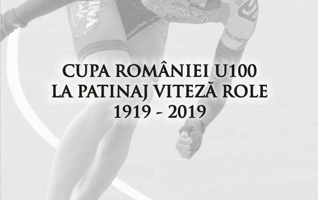 """Cupa României """"U"""" 100 la Patinaj Viteză pe Role"""
