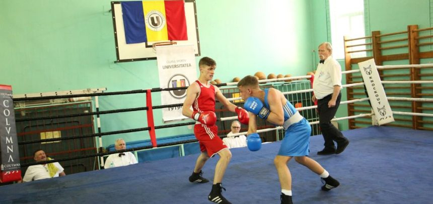 Competiție la Târgu Mureș pentru pugiliștii universitari
