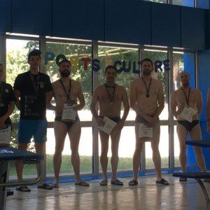 Bogdan Mureșan, pe podium la concursul de înot de la Sports Festival