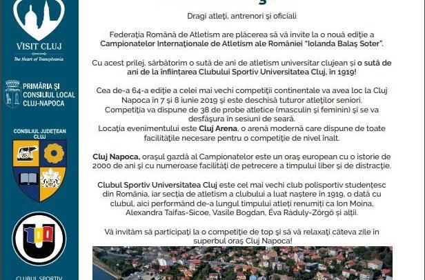 Sărbătorim 100 de ani de atletism universitar clujean