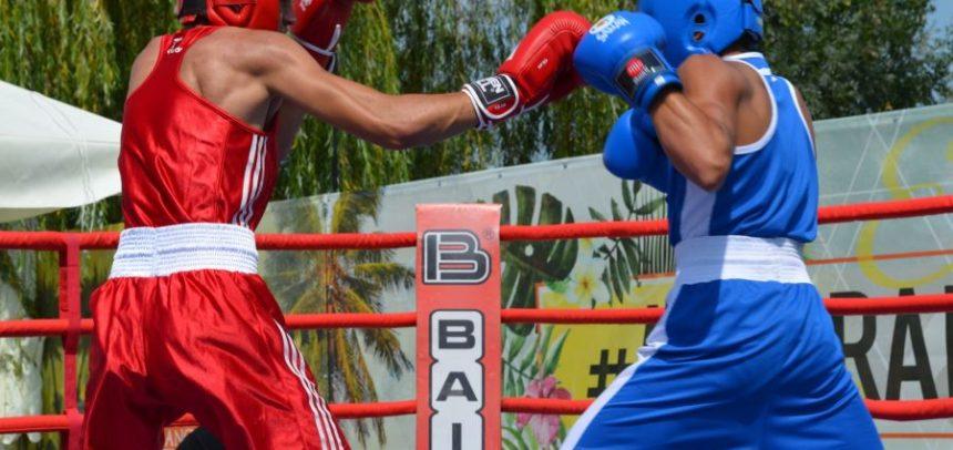 Boxerii s-au clasat pe podium la competițiile amicale