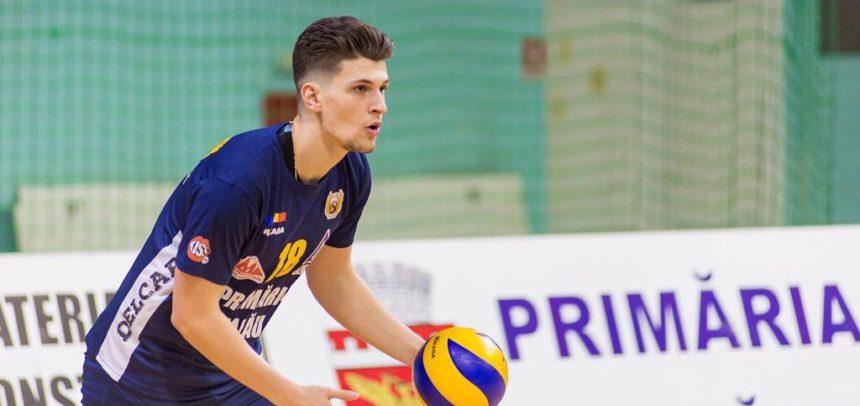 Filip Constantin, noul transfer de la echipa de volei masculin