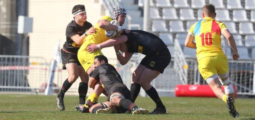 5 rugbyști universitari sunt convocați la lotul național U20