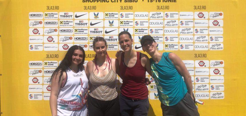 Echipa de baschet feminin participă la turneul 3×3 de la Ploiești