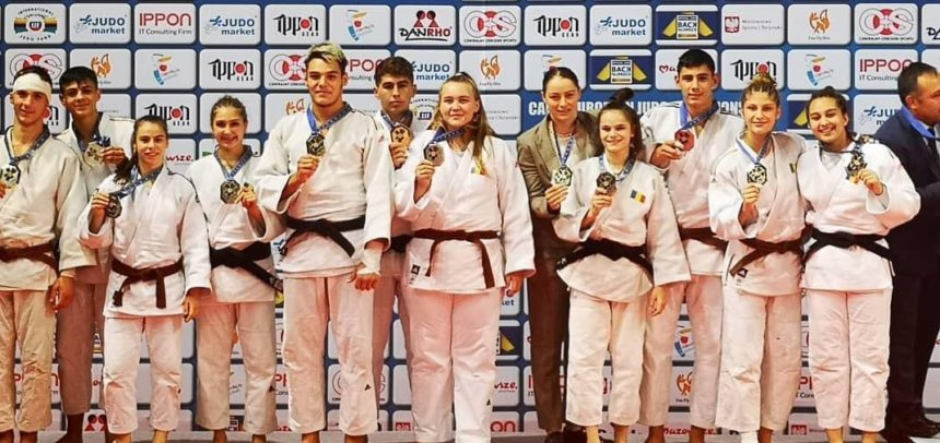 Judoka Silvia Gherman, vicecampioană europeană la cadeți echipe