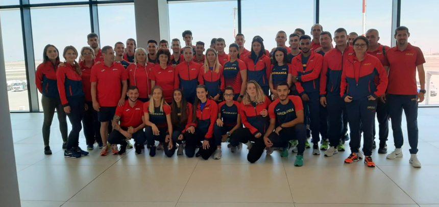 Doi atleți universitari participă la Campionatul European U23