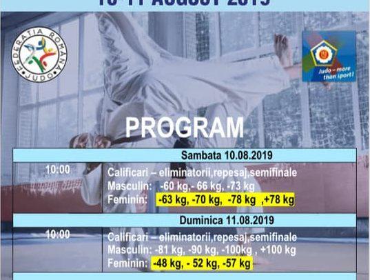 Cupă Europeană de judo U21 la Cluj