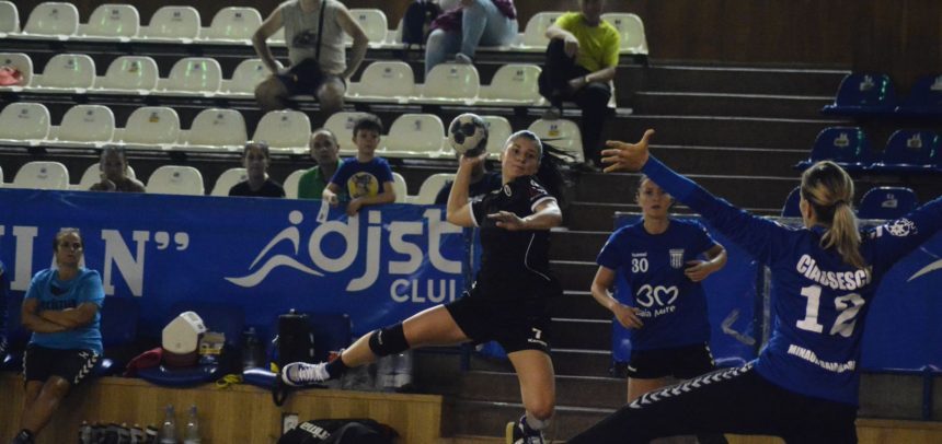 Handbalistele au cedat la un gol cu Minaur Baia Mare