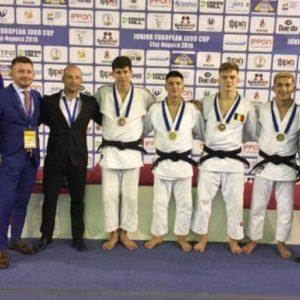 Aur și bronz la Cupa Europeană de judo U21