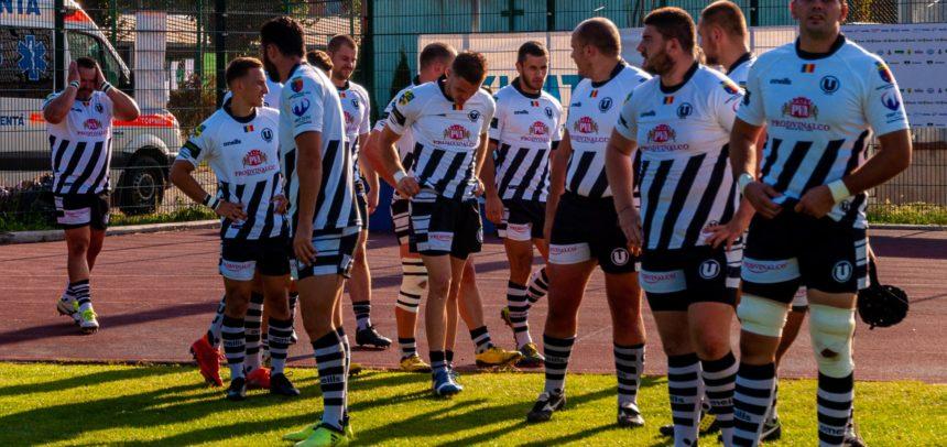 """""""U"""" Cluj a câștigat prima etapă a turneului de Rugby 7"""