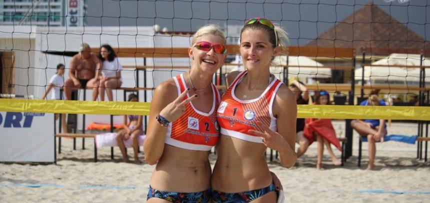 Medalie de argint la Cupa României de volei pe plajă
