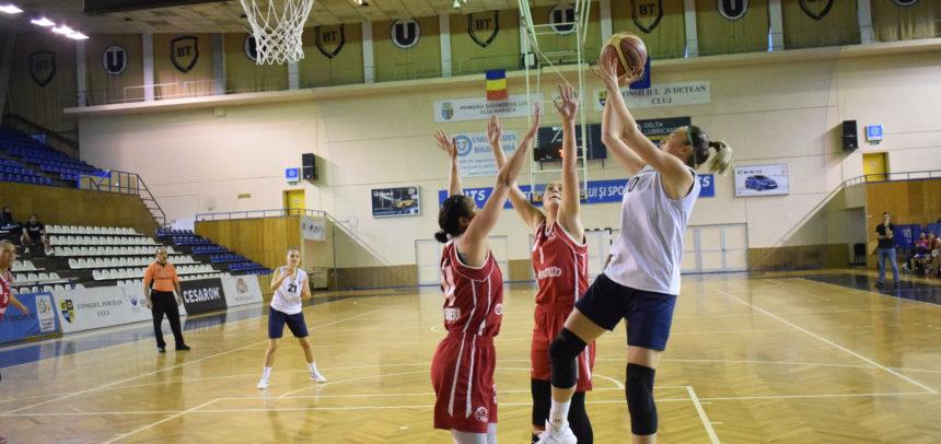 Deplasare la Oradea pentru baschetbaliste