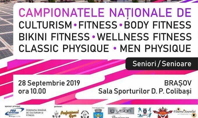 Campionatul Național de culturism și fitness are loc la Brașov