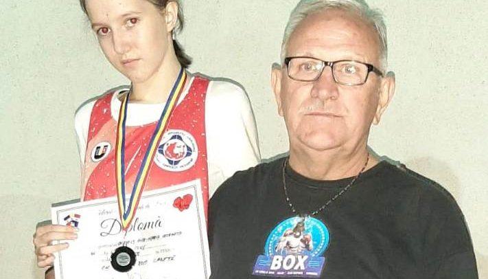 Gergely Ana-Maria, argint în finala Campionatului Național