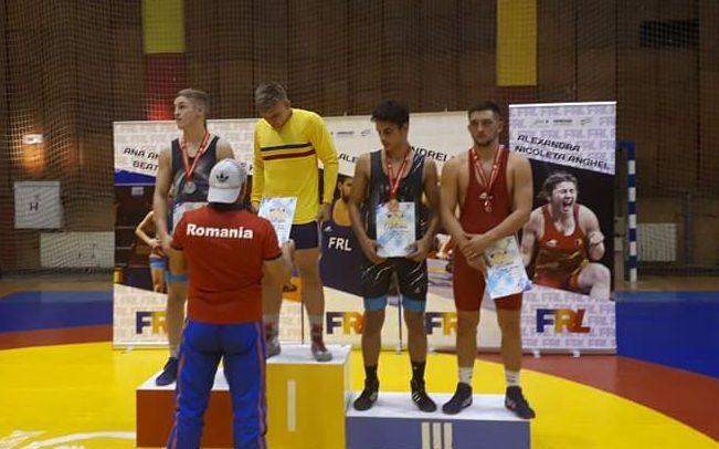 Tifan Istvan a luat aurul la Târgoviște
