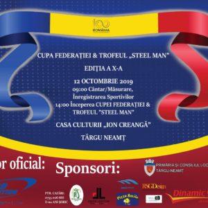 Cupa Federației la Culturism&Fitness se ține la Târgu Neamț