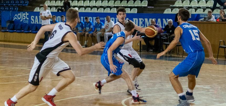 Baschetbaliștii au meci acasă cu BC CSU 2 Sibiu