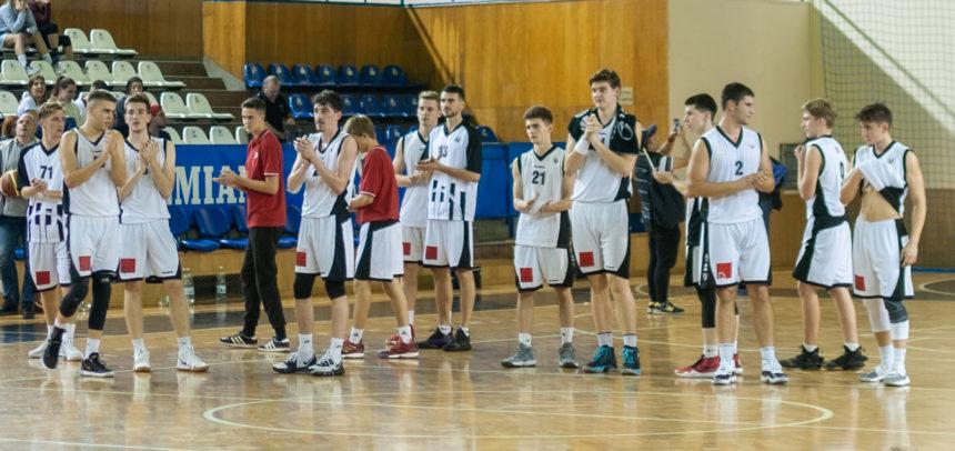 Victorie categorică pentru baschetbaliștii universitari