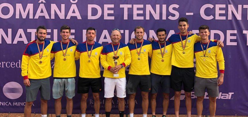 Echipa masculină de tenis este campioană națională