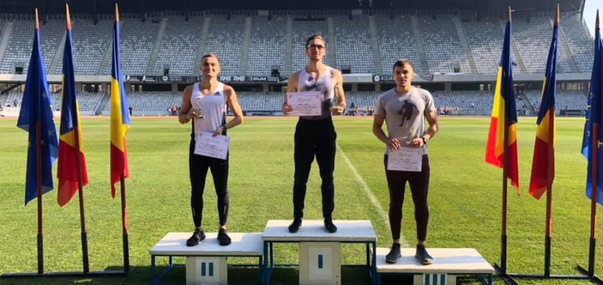 Clasări pe podium pentru atleți la concursul de la Cluj